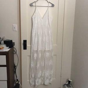 New Socialite White Dress Sz M